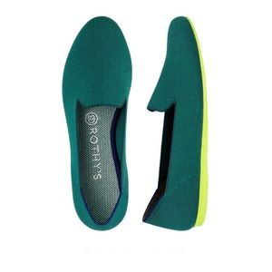 Rothy's The Loafler Flats Jade Retired Size 7